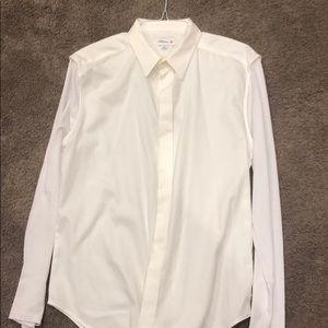 Men's 3.1 Phillip Lim M white button down shirt